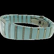 Blue Ceramic & Titanium Diamond Ladies Rado Watch