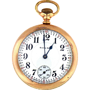 Beautiful Pocket Watch from the South Bend 52 mm Gold Filled