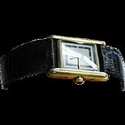 Muse De Cartier Vintage Ladies Tank Watch