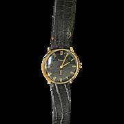 Cartier Vintage 14k electroplate men's watch Circa 1940's/50's.