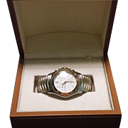18 K & Stainless steel Ebel Unisex Watch