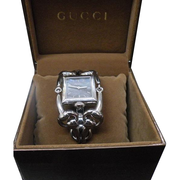 Gucci stainless steel Fashion Watch Horse Bit Band