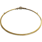 Brass Round Art Deco Mirror c early 1900's