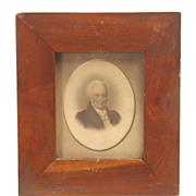 Framed Photos of Mr. & Mrs. Captain George Dawson, Circa 1835