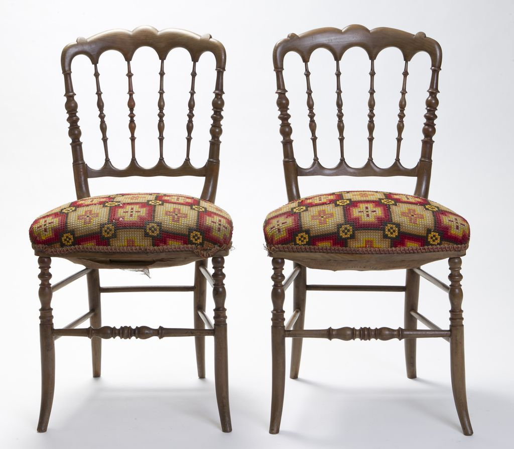 French Pub Chairs Circa 1850 Paris from doriswarehouse on Ruby Lane