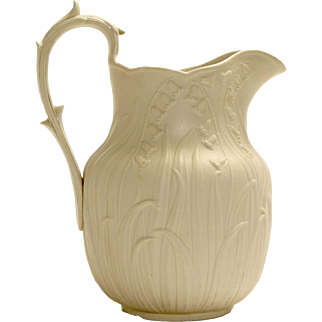 Edward Walley Lilly of the Valley Pitcher 1850's