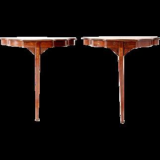Pair of Elegant Wall Tables English 1875
