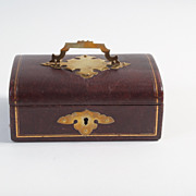 English jewelry box