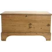 Honey Pine Chest circa 1829