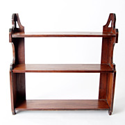 Mahogany Shelf, English c. 1860