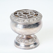 Small IANTHE English Silver-Plated Bud  Vase