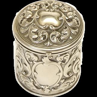 Silver Vanity Vessel