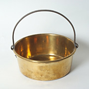 Small English Brass Pot