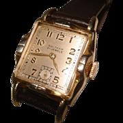 Vintage Men's Waltham Two Tone Wristwatch 21 Jewel