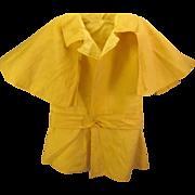 Antique Silk Toddler or Big doll 'Cape/Coat'