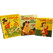 3 Vintage *Little Lulu* Children's Books
