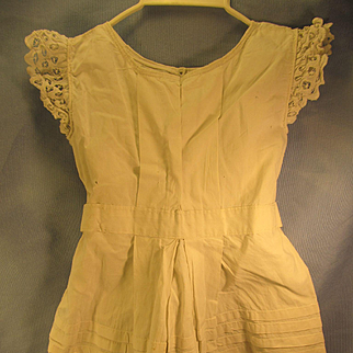 Sweet Antique Doll Dress, for Big Doll