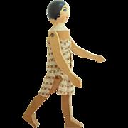 Pomona Wooden Doll c1920