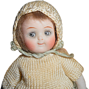Fab Kestner 111 Jointed Knee & Elbow All Bisque Doll c1915