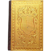 Small Gilt Covered Almanac 1893
