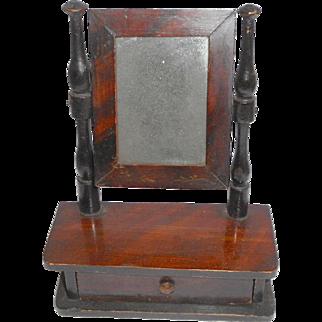 Miniature Swing Mirror c1880