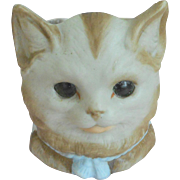 Fab Bisque Cat Night Light c1910