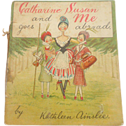 Catherine Susan Peg Doll Book c1905