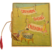 The Calendar Of Catherine Susan 1909 Peg Doll Interest