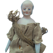 German Bisque Gentleman For Dolls House c1910