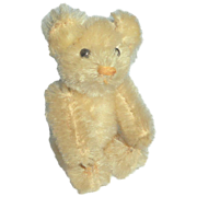 Tiny White Mohair Schuco Teddy Bear