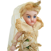 Lovely All Bisque Child As Found c1900