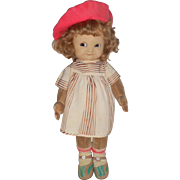 Mabel Lucie Attwell Doll By Chad Valley c1930