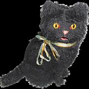 Sweet Black Cat Automaton c1915