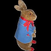 Steiff Peter Rabbit Velvet Toy c1905