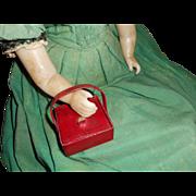 Miniature Sewing Casket All Original c1820