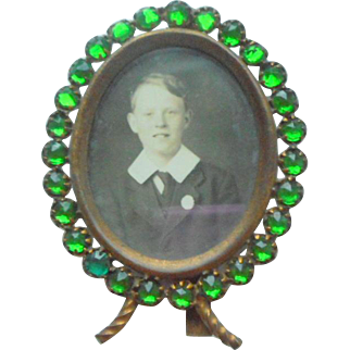 Emerald Green Miniature Frame c1910