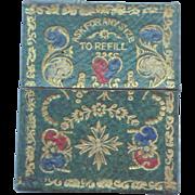 Early Patent Needlecase & Needles c1850