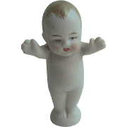 Pudgy Bisque Baby Cake Topper c1915