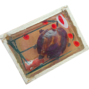 Novelty Moving Toy Tortoise In Box c1920