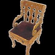 Erhard & Söhne Ormolu Chair c1890