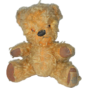 Chad Valley Toffee Character Teddy Bear From Listen With Mother c1950