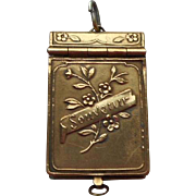 Tiny French Souvenir Book c1920