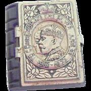 Miniature Book 1910-1935 Silver Jubilee