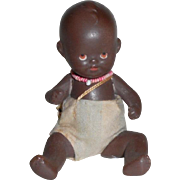Sweet Hertwig Black Bisque Baby Doll