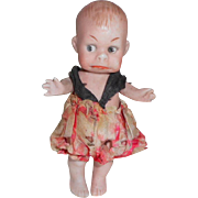 Grumpy All Bisque Character Doll c1915