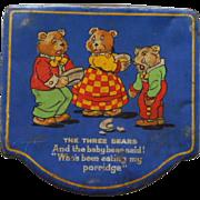 The Three Bears Tin
