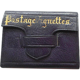 Miniature French Wallet For FF Doll c1880
