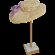 Fancy Wired Doll Bonnet c1910