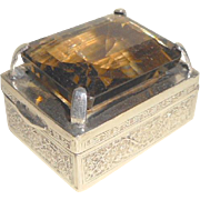 Unusual Small Jewel Set Box