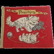 Large Deans Rag Book Pussikins  c1930